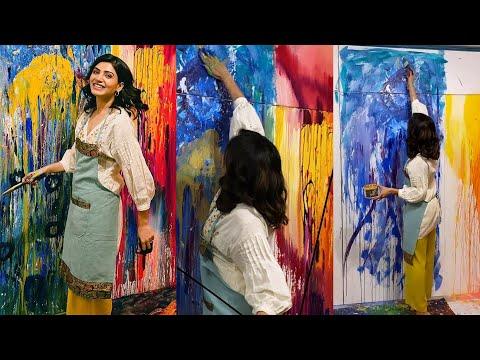 Samantha Painting Video Goes Viral on Social Media | Naga Chaitanya | IndiaGlitz Telugu