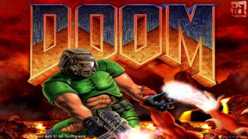 Download Doom shooter for DOS (1993) - Abandonware DOS
