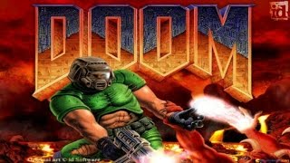 Doom gameplay (PC Game, 1993)