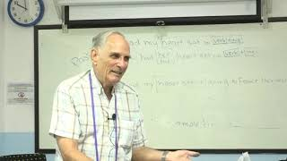 Learn English เรียนภาษาอังกฤษ : suraphet 5594: Teacher John, USA. John  13 November 2018