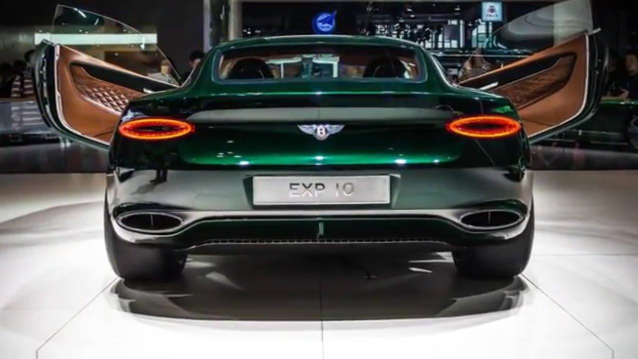 2019 bentley barnato sports car based on exp 10 speed 6