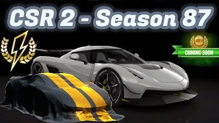 CSR2 | Season 87 | Next Prestige, Crew Prize, Flash Event & Gold Cup Cars Info!