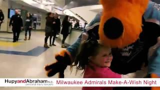Milwaukee Admirals Make-A-Wish Night