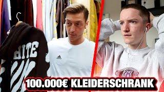 MESUT ÖZIL'S Hypebeast Kleiderschrank (Reaktion 😲)