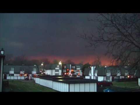 Tornado Warning!!  Topeka, Kansas... March 6, 2017