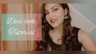 Get Sassy Desi with Nitya Dwivedi | Traditional Look | Glam Night Look | Nitya Dwivedi