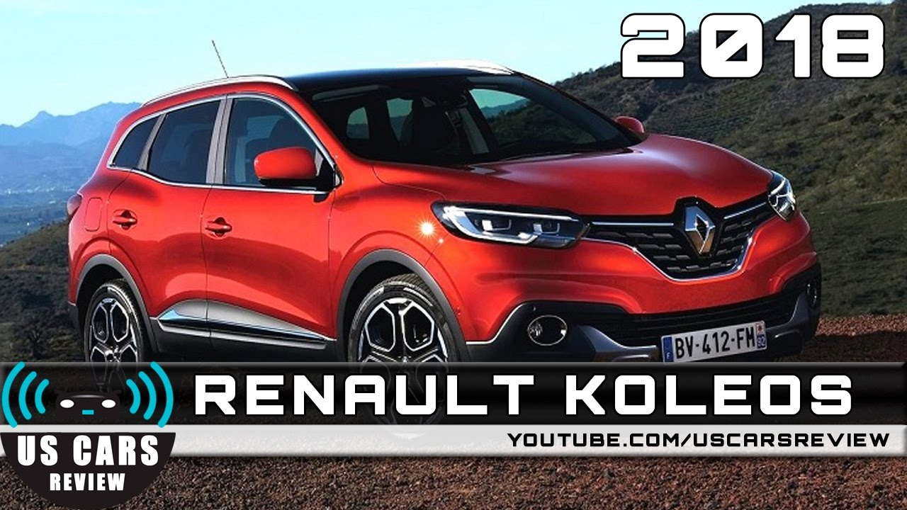 nuevo renault 2018. wonderful 2018 2018 renault koleos throughout nuevo renault u