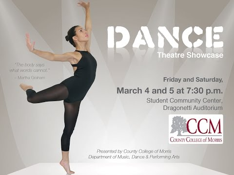 County College of Morris 2016 Dance Theater Showcase