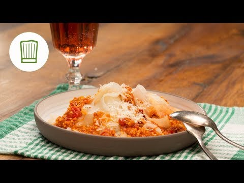 Kohlrabispaghetti mit Soja-Bolognese Low Carb | Chefkoch
