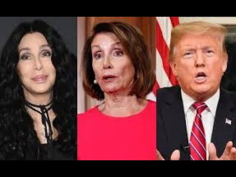 CHER Demands PELOSI & SCHUMER: Help TRUMP Build Wall (MIRACLE)