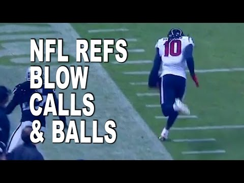Referees Blow Two Calls in Texans vs Raiders Game