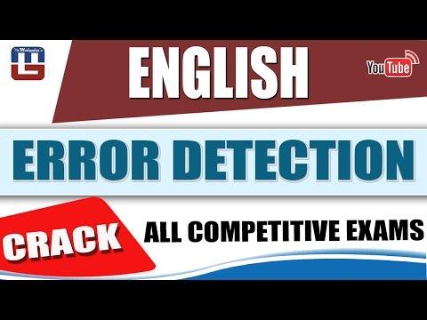 ERROR BASED SUBJECT VERB AGREEMENT | ENGLISH | SBI PO 2017