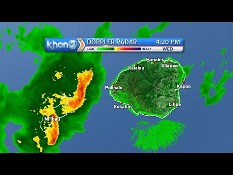 Kauai Radar Loop
