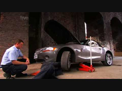 Fifth Gear - BMW Z4 Service