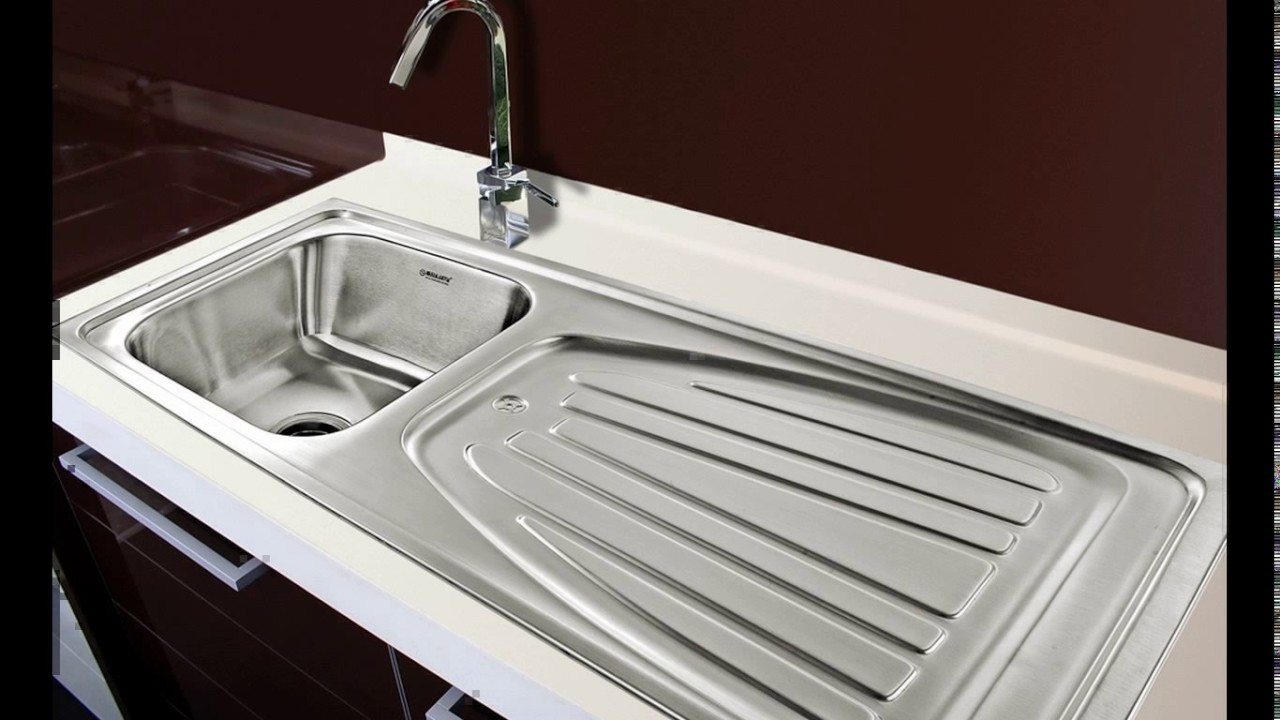 Kitchen sink design in india - YouTube