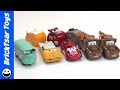 DISNEY PIXAR CARS ROAD TRIP LIGHTNING McQUEEN, MATER, RAMONE, FILLMORE