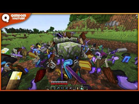 Setiap Block Drop Nya Random | Randomize Minecraft Indonesia !!!
