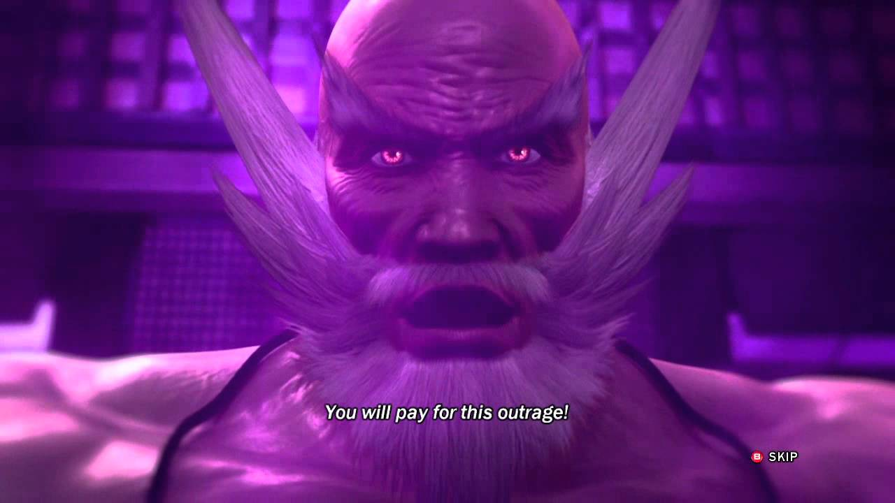 Tekken Tag Tournament 2 - Endings - Jinpachi Mishima [HD ...