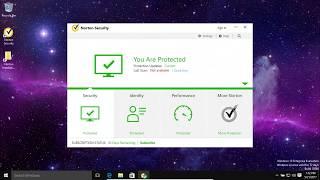 Norton Antivirus Review and Test 2017