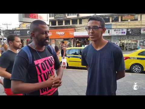 É Só Alegria // Evangelização ousada em Madureira: Quem é Jesus para você? #10 // Eduardo Badu