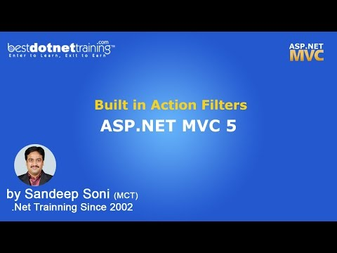 ASP.NET | MVC 5 | Built in Action Filters