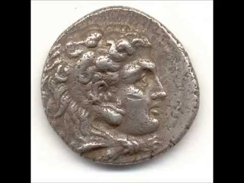 PhillipIII Alexander the Great's half-brother Ancient Silver Coin