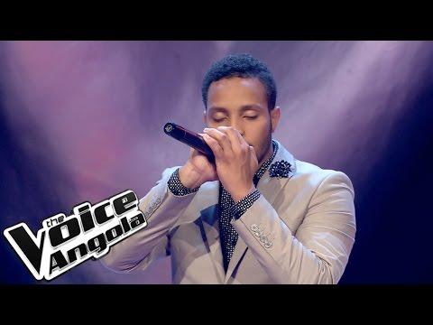 """Ricardo Pina - """"All of me"""" / The Voice Angola 2015: Audição Cega"""