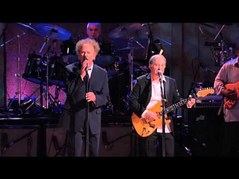 "Paul Simon and Art Garfunkel - ""Bridge Over Troubled Water"""
