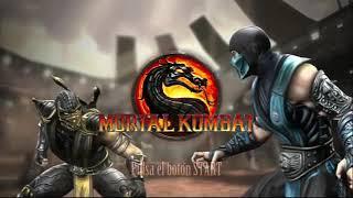 Mortal Kombat 9_ Selección de Personajes