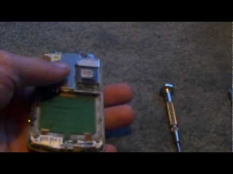 How to pull apart a slide phone