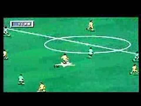 FIFA Soccer 95 on Sega Megadrive / Genesis. Gameplay & Commentary