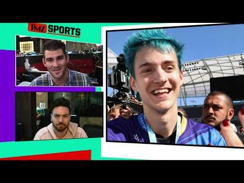 Ninja and Marshmello Destroy Big Stars In Fortnite Pro-Am, Win $1 Million! | TMZ Sports