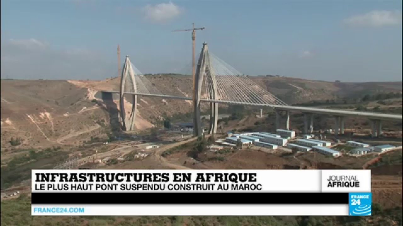 Morocco Rabat Cable Stayed Bridge Highway Bypass