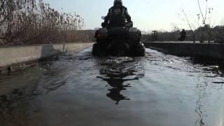 LINHAI NEW M550 ATV FACTOTRY TESTING