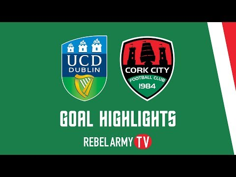 UCD 0-1 CORK CITY   GOALS   SSE AIRTRICITY LEAGUE