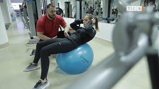 Упражнения с фитболом для пресса