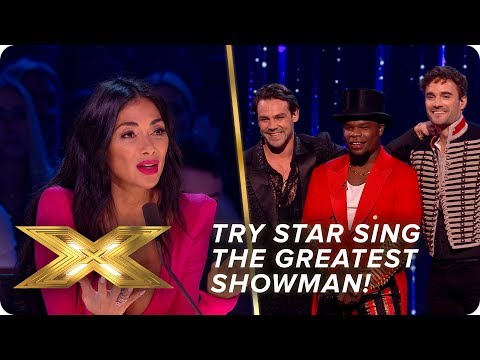 Try Star sing The Greatest Showman! | Semi-Final | X Factor: Celebrity