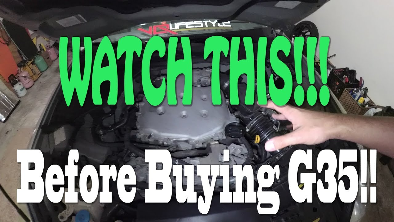 G35 350z Er S Guide Common Problems