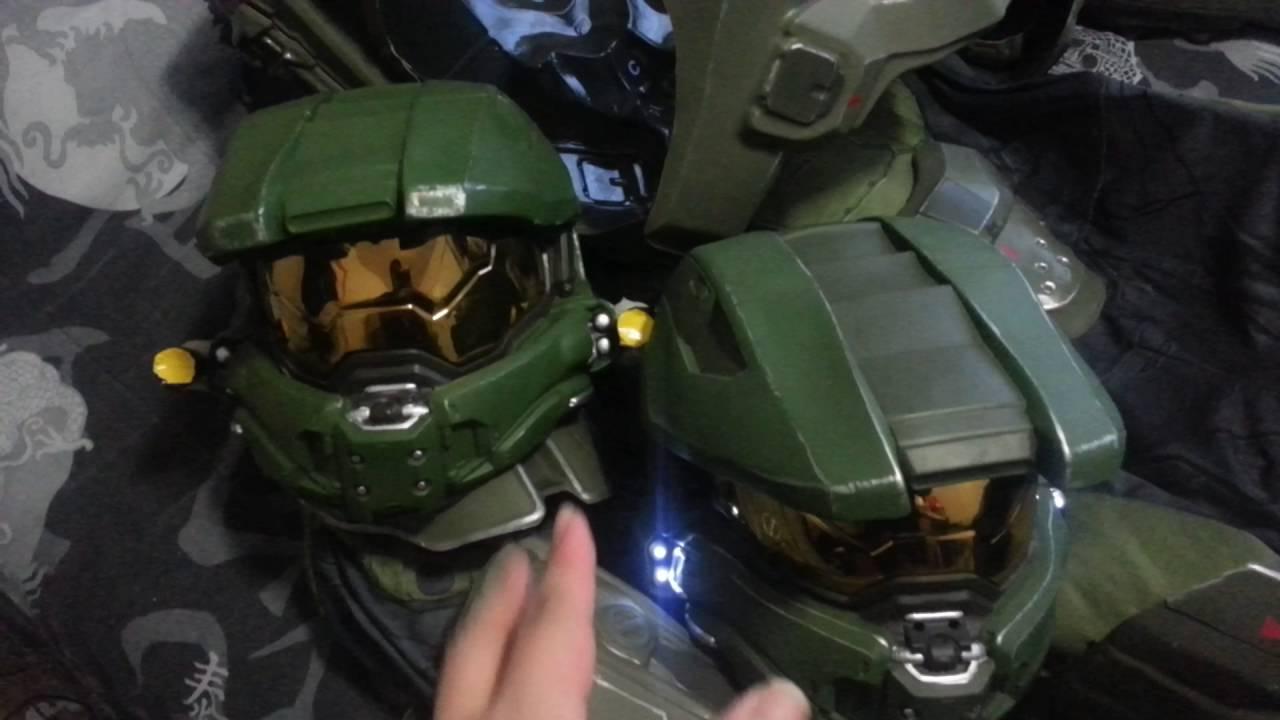 Halo Costume Helmet & Image Is Loading Halo-Master-Chief