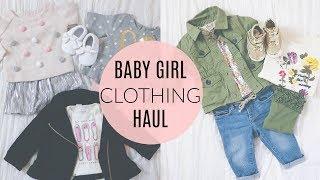 HUGE BABY GIRL Clothing Haul- Old Navy, Carters & Baby Gap