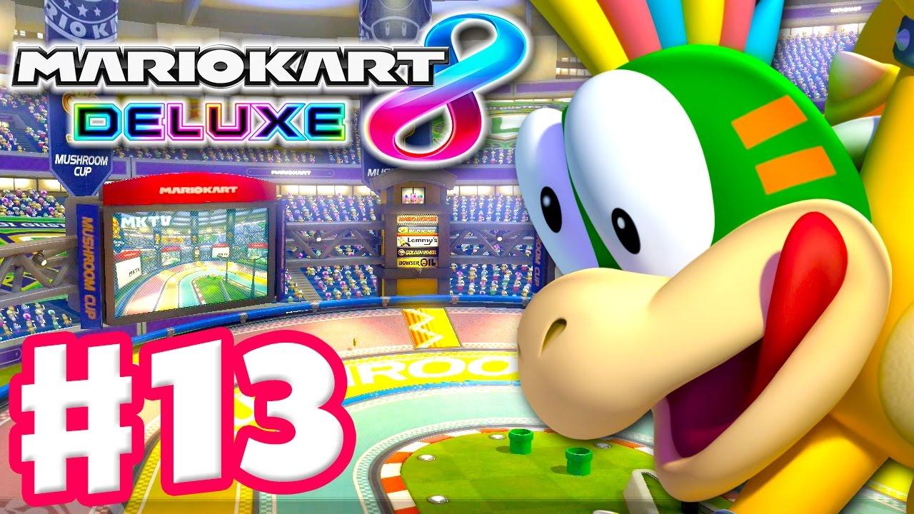 Lemmy Mushroom Cup Online Vs Races Mario Kart 8
