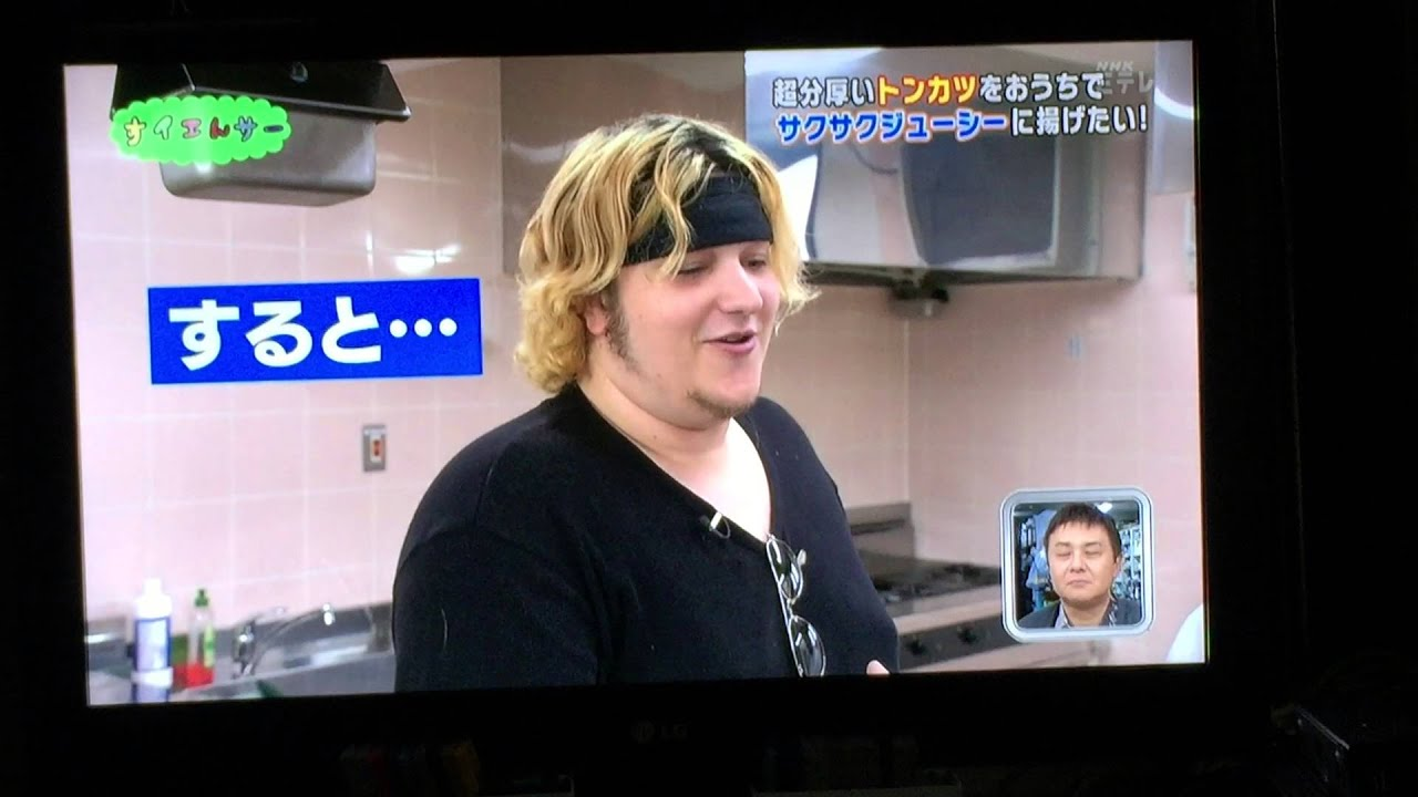 TKYOSAM ON JAPANESE TV - YOUNG GIRLS AND COOKING!!!!
