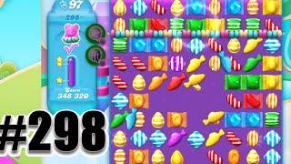 Candy Crush Soda Saga Level 298   UNLIMITED MOVES!!