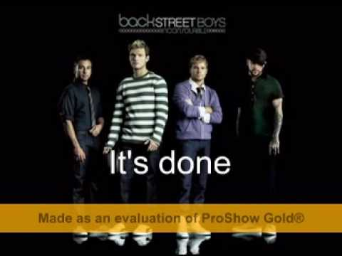 Backstreet Boys - something that I already know with lyrics
