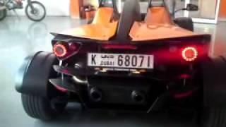 KTM X-Bow 2009 Race Car Exhaust in Dubai KTM UAE .