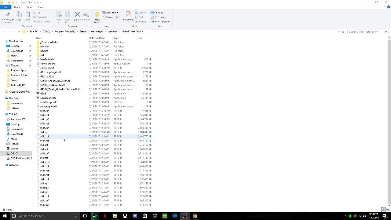 gta v files