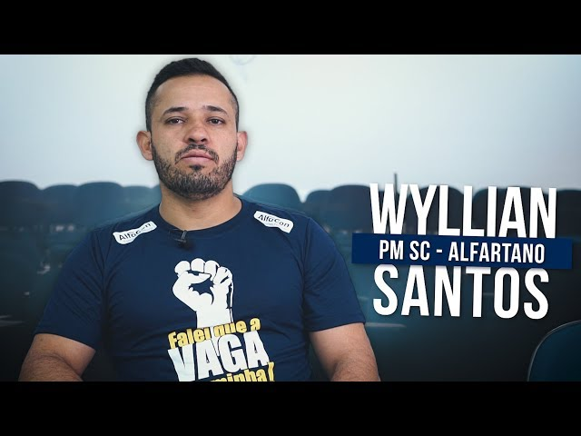 """""""Se não desistir, você vai atingir sua meta!"""" – Wyllian Santos   AlfaCon"""