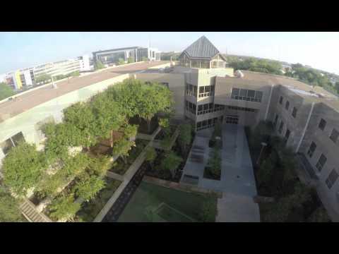 An Aerial View of UT Dallas' Campus Enhancements