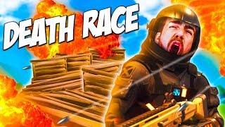 CUSTOM FORTNITE DEATH RACE - I AM THE SNIPER!