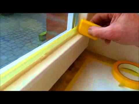 Gut bekannt Holzfenster von innen lackieren - YouTube XD64